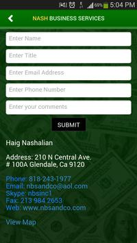 Nash Business Services apk screenshot