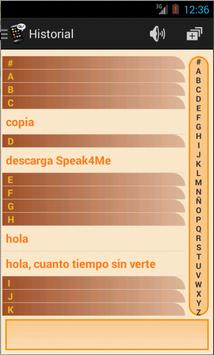 Speak4Me apk screenshot
