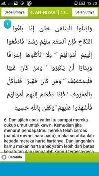 Al-Quran Terjemahan Indonesia apk screenshot