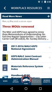 NALC Member App apk screenshot