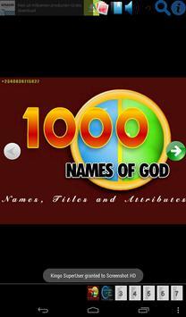 1000 NAMES OF GOD poster