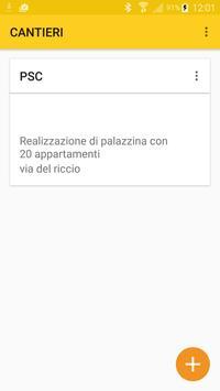 App Sicurezza Cantieri poster