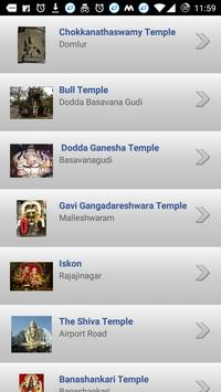 Bangalore Temples poster