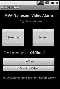 Digifort - MVA - (Old Version) apk screenshot