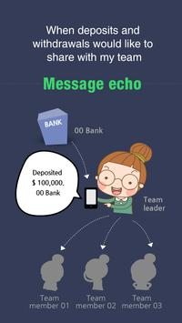 Message echo Free poster