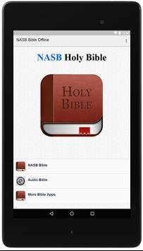 NASB Bible Offline poster