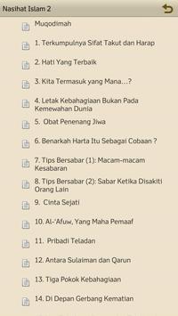 Nasihat Islam 2 apk screenshot