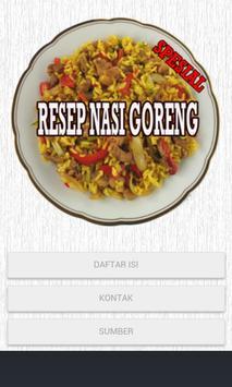 Resep Nasi Goreng poster
