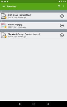 Nasuni Mobile apk screenshot