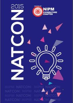 NATCON 2015 poster