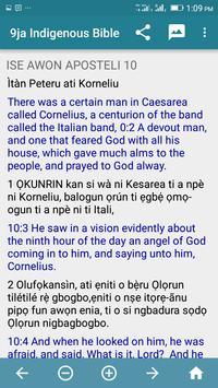 9ja Indigenous Bible apk screenshot