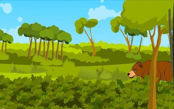 นิทานอีสบ หมีกับสองนักเดินทาง apk screenshot
