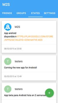 M2s apk screenshot