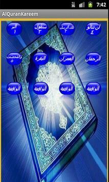 Al Quran Arabic(17Lines 1-15) apk screenshot