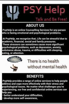 PsyHelp poster