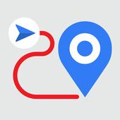 GPS navi icon