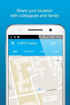X-GPS Tracker poster