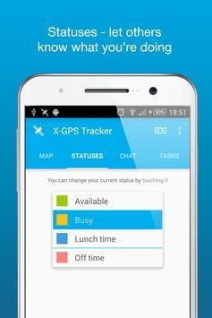X-GPS Tracker apk screenshot