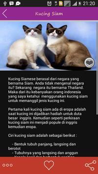 Informasi Jenis Kucing apk screenshot