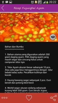 Resep Masakan Ayam Nusantara apk screenshot