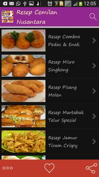 Resep Cemilan Nusantara apk screenshot