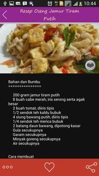 Resep Masakan Jamur Nusantara apk screenshot