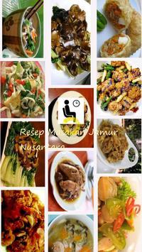 Resep Masakan Jamur Nusantara poster