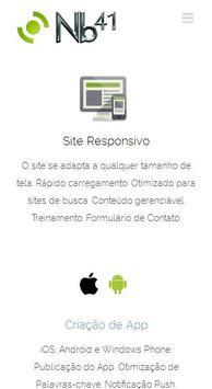 Nb41 Criação de Sites e App poster
