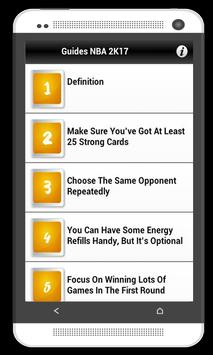 Guides For MyNBA2K17 apk screenshot