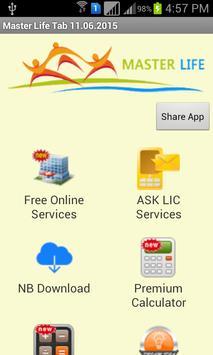 Master Life Tab - LIC apk screenshot