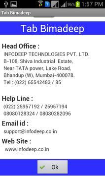 Tab BimaDeep - LIC poster
