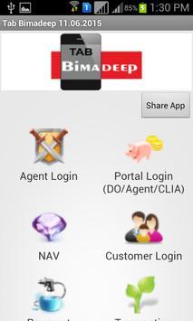 Tab BimaDeep - LIC apk screenshot