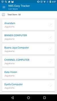 Nbs Easy Tracker apk screenshot