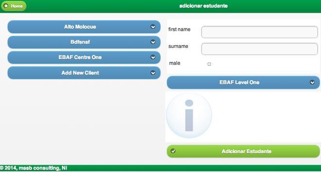 NCBA CLUSA PROMAC Registration apk screenshot