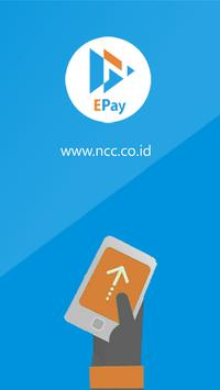 NCC E-Pay poster