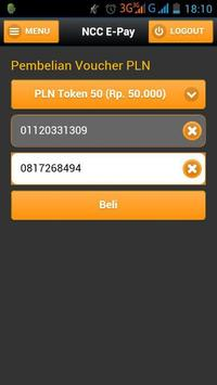 NCC E-Pay apk screenshot