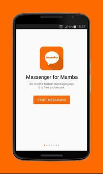 Messenger for MaMba poster