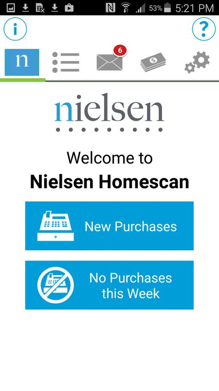 nielsen homescan how to get more points
