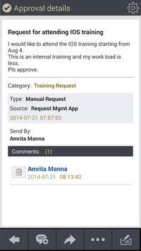 Enterprise Approvals apk screenshot