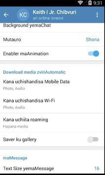 Ndeipi Messenger apk screenshot
