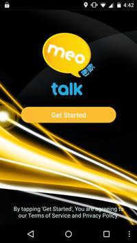 MeoTalk App poster
