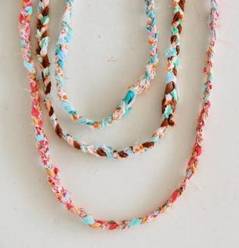 necklace crafts for kids poster