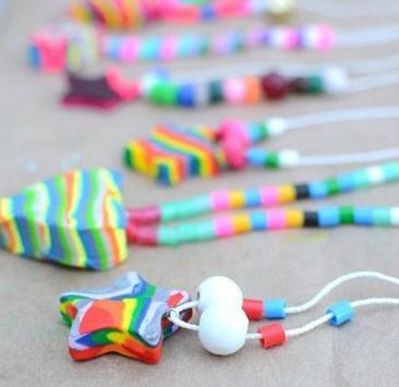 necklace crafts for kids apk screenshot