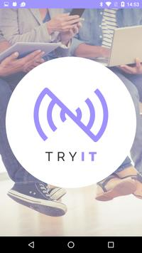 TryIT: proximity by NearIT poster