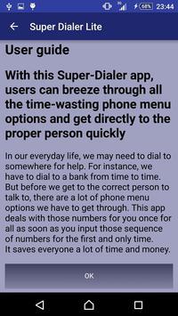 Super Dialer (Lite) apk screenshot