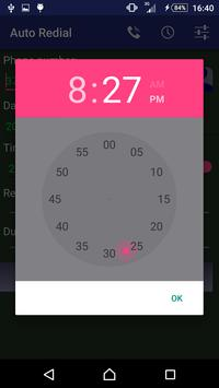Auto Redial (schedulable) apk screenshot