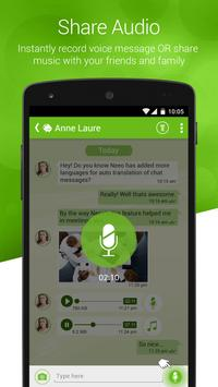 NEEO,Free IM & Chat Translator apk screenshot