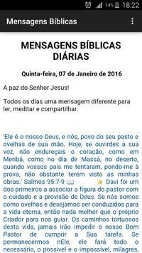 Mensagens Bíblicas 2016 apk screenshot