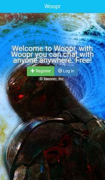 Woopr Messenger poster
