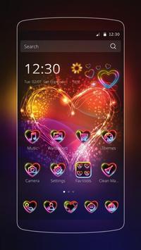 Neon Love Theme poster